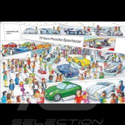 Livre Porsche Wimmelbook - livre d'images pour enfants hidden pictures book Wimmerbilderbuch