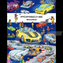 Book Porsche Wimmelbook - hidden pictures book for children