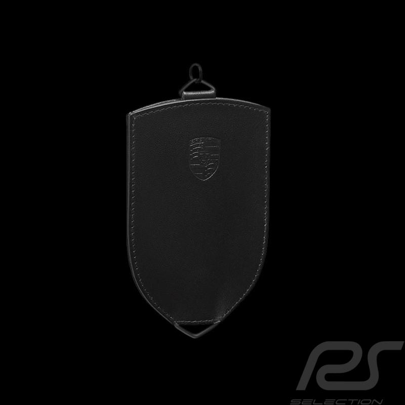 Etui Porte-clés Porsche cuir noir Porsche Design WAP0300370K key pouch Schlüsseltäschchen