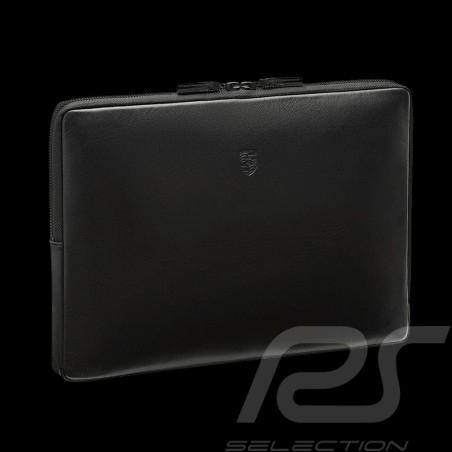 Porsche laptop case black leather Porsche Design WAP0300100K