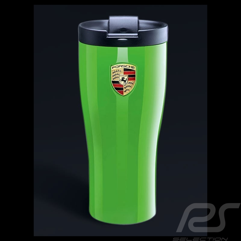 Mug Thermos Porsche isotherme vert lézard Porsche Design WAP0506000J isothermal Thermo-becher