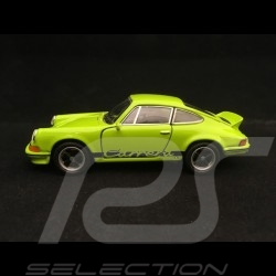 Porsche 911 Carrera RS 2.7 pull back toy Welly green / black