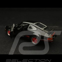 Porsche 911 Carrera RS 2.7 jouet à friction Welly noir / rouge pull back toy Spielzeug Reibung black red schwarz rot