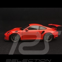 Porsche 911 type 991 GT3 RS 2016 orange fusion 1/24 Welly MAP02485317 lava orange lavaorange