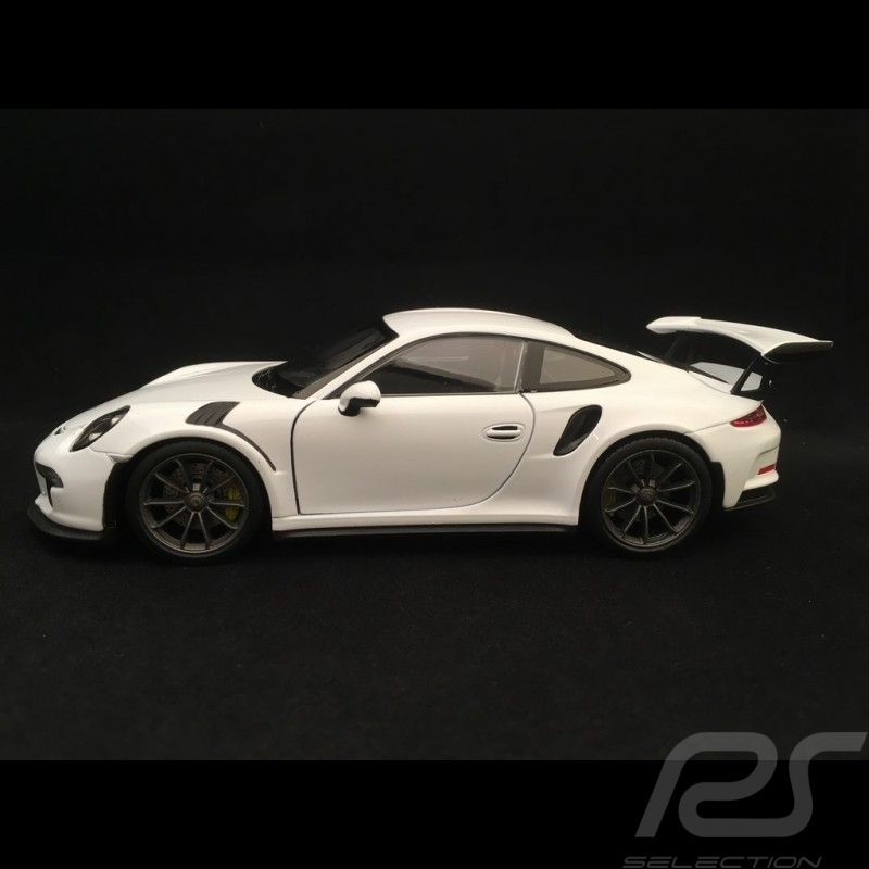 Porsche 911 type 991 GT3 RS 2016 blanc 1/24 Welly MAP02485117 white weiß