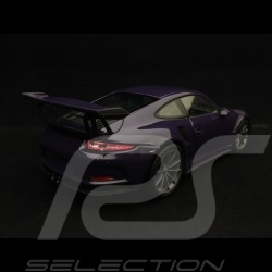 Porsche 911 type 991 GT3 RS 2016 ultra violet 1/24 Welly MAP02485017 ultraviolet