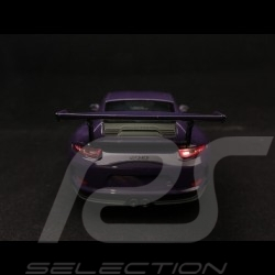 Porsche 911 type 991 GT3 RS 2016 ultra violet 1/24 Welly MAP02485017 ultraviolet