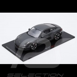 Porsche 911 type 991 Carrera S 50 ans 1/18 Spark 18SP066 gris graphite grey grau 50 years 50 Jahre