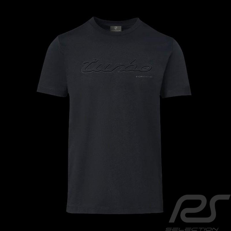 T-shirt Porsche Turbo Classic Porsche Design WAP823 noir black schwarz - homme men herren