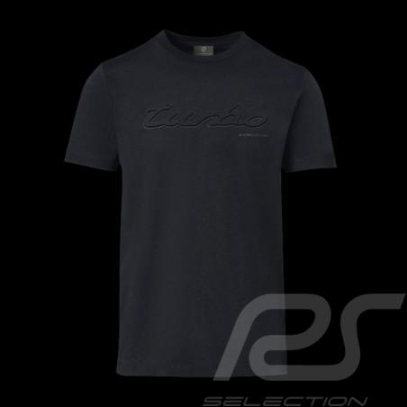 T-shirt Porsche Turbo Classic WAP823K noir black schwarz - homme men herren