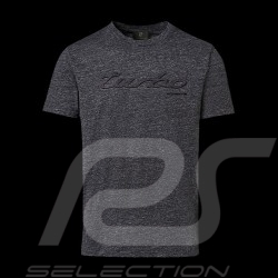 T-shirt Porsche Turbo Classic Porsche Design WAP824 gris chiné Heather grey Graumeliert - homme men herren