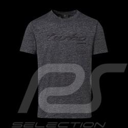 T-shirt Porsche Turbo Classic Porsche Design WAP824 gris chiné Heather grey Graumeliert - homme men herren