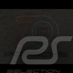Polo Porsche 70 ans Gris anthracite Porsche Design WAP710 - homme men herren 70 years jahre grey grau
