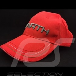 Casquette Abarth License officielle rouge red cap rote cap