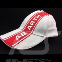 Abarth Cap Offizielle License weiß