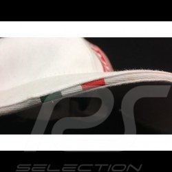Casquette Abarth License officielle blanche white cap weiß cap