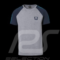 T-shirt Porsche Martini Collection Porsche WAP551 gris / bleu grey / blue grau / blau homme men herren