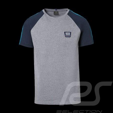 T-shirt Porsche Martini Collection Porsche WAP551 gris / bleu grey / blue grau / blau homme men herren