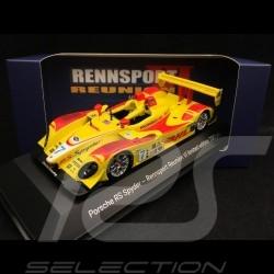 Porsche RS Spyder n° 7 Rennsport Reunion VI Laguna Seca 2018 1/43 Spark MAP02014018