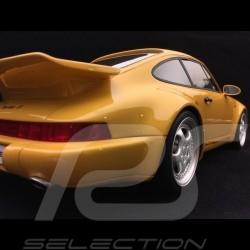 Porsche 911 type 964 Turbo S Leichtbau 1992 1/12 CMR CMR12018 jaune yellow gelb