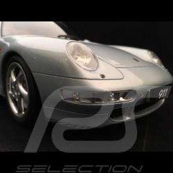 Porsche 911 Carrera 4S type 993 1/12 GT Spirit GT190 gris polaire rgent polar silver silber