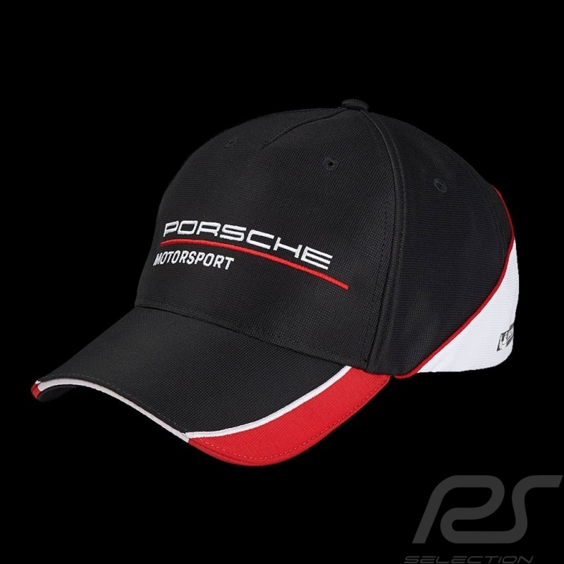 Casquette enfant kid's Kinder Cap Porsche Motorsport Porsche Design WAP8000010J noire / rouge / blanc black / red / white schwar