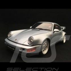 Porsche 911 Carrera RS 3.8 Type 964 1994 gris polaire 1/18 GT Spirit GT735