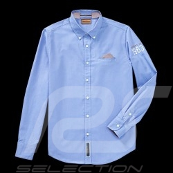 Porsche Shirt Classic Collection 1963 blue Porsche Design WAP716 - men
