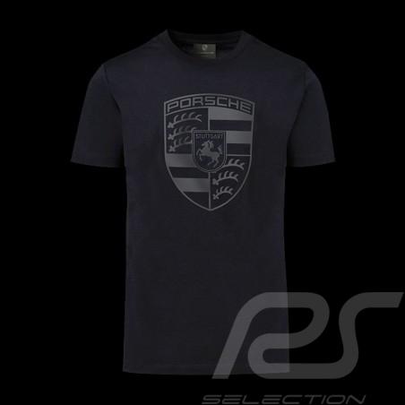 T-shirt Porsche écusson géant noir Porsche WAP821K black crest schwarz wappen homme men herren