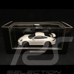 Porsche 911 GT3 type 991 phase II 2017 blanc 1/43 Minichamps 410066025