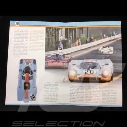 Porsche 917 K Le Mans 1970 n° 20 Gulf 1/12 Norev 127500