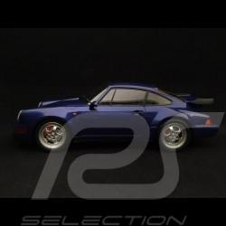 Porsche 911 type 964 Turbo 1990 metallic blue 1/18 Minichamps 155069101