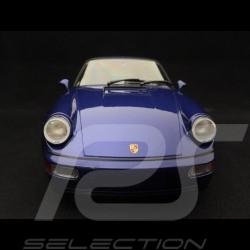 Porsche 911 type 964 Turbo 1990 bleu métallisé 1/18 Minichamps 155069101
