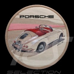 Badge Porsche 356 autocollant original Patch à repasser Porsche Design WAX04000001 iron-on patch Aufbügel patch