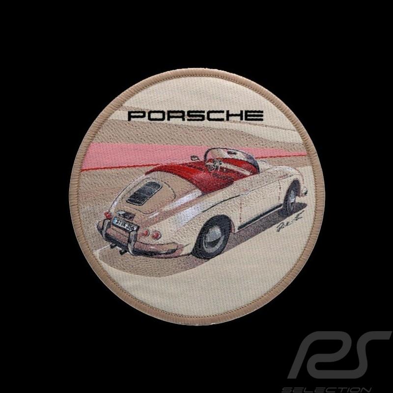 Badge Porsche 356 autocollant original Patch à repasser Porsche Design WAX04000001 iron-on patch Aufbügel patch