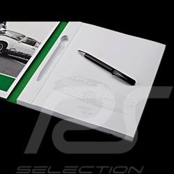 Bloc-note Notepad Notizbuch Porsche 911 Carrera RS 2.7 avec stylo Porsche Design WAP0500500G