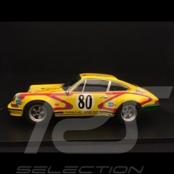Porsche 911 S 2.5 24h Le Mans 1972 n° 80 Kremer 1/18 Spark 18S213