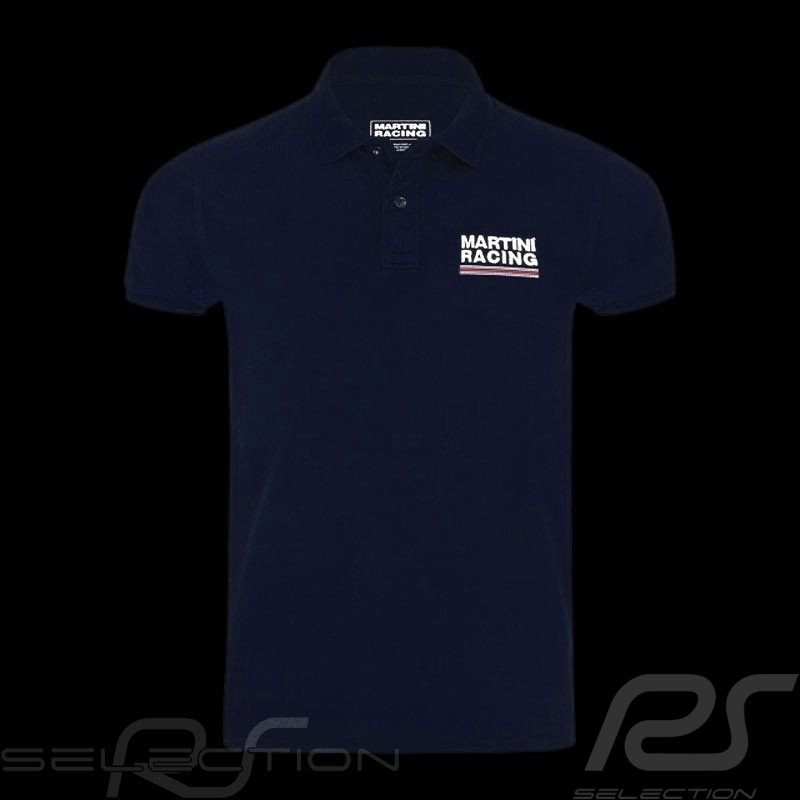 Polo homme Martini Racing Sportline bleu marine men herren