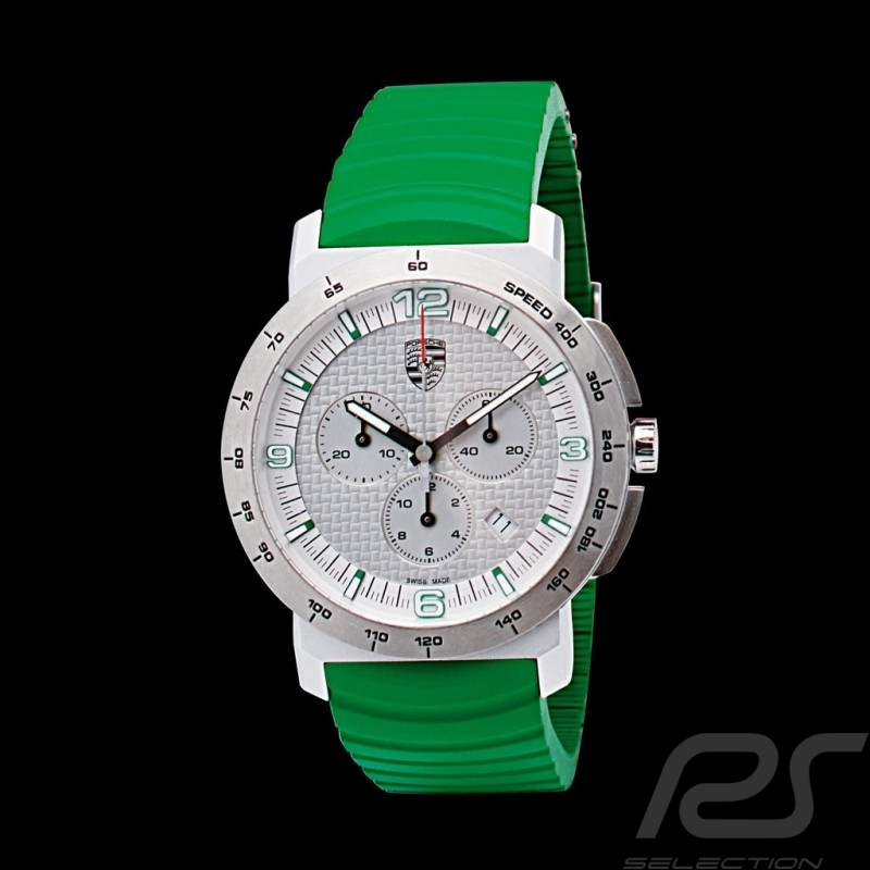 Montre Uhr watch Porsche Chrono Sport Classic Green Edition Porsche Design WAP0700860G
