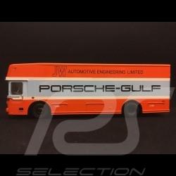 Mercedes 0317 LKW Porsche Koffer Gulf 1/43 Schuco 450372800