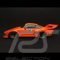Porsche 935 /77 winner Zolder DRM 1977 n° 52 jagermeister 1/18 Norev 187435
