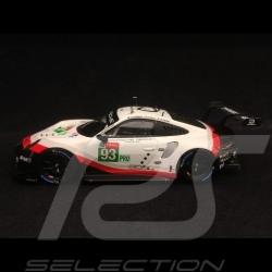 Porsche 911 RSR type 991 24h du Mans 2018 n° 93 Porsche Team 1/43 Spark S7034