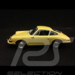 Porsche 901 Coupé 1963 gelb 1/43 Minichamps WAP0209110H