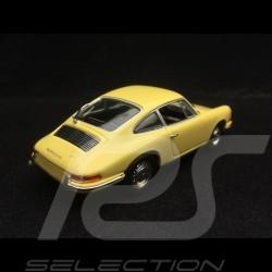 Porsche 901 Coupé 1963 yellow 1/43 Minichamps WAP0209110H