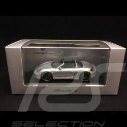 Porsche Boxster E type 981 2015 silber 1/43 Spark WAP0202040F
