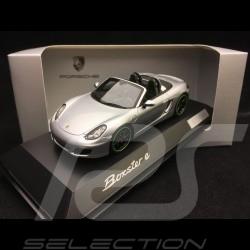 Porsche Boxster E type 981 2015 argent 1/43 Spark WAP0202040F