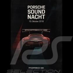 Affiches Porsche Sound Nacht 2018 série complète originale - Rare !