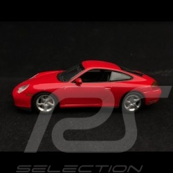 Porsche 911 type 996 Carrera 4S Coupé 2001 rouge indien 1/43 Minichamps 400061072