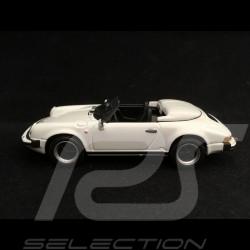 Porsche 911 Carrera 3.2 Speedster 1989 white 1/43 Minichamps WAP0200360A