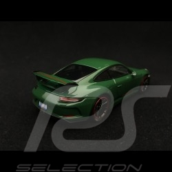Porsche 911 type 991 GT3 phase II 2017 vert Irlandais 1/43 Minichamps 410066028
